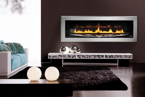 Swarovski-Studded LHD50SS Fireplace