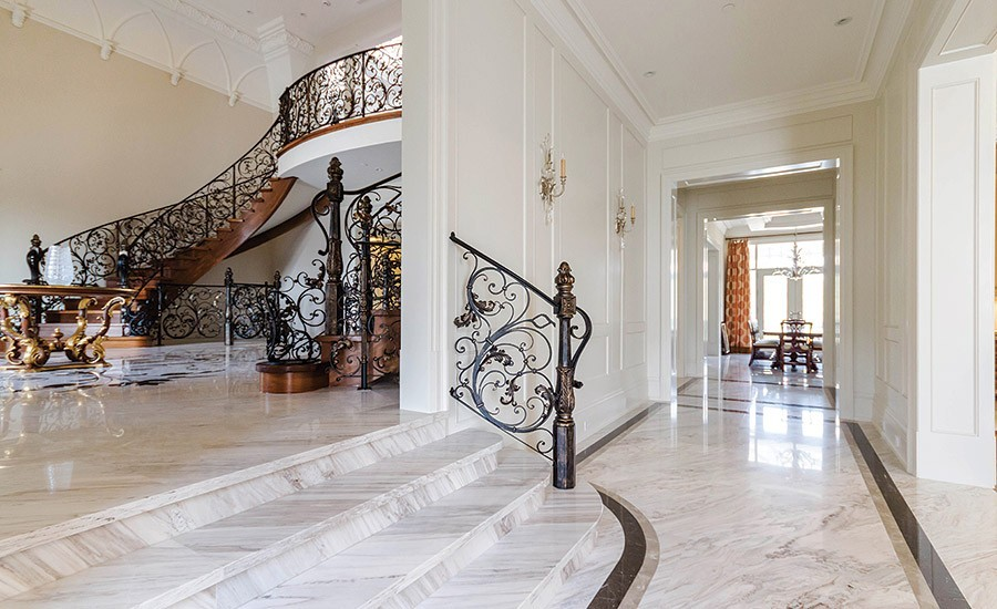 Use Marble In Floors And Walls