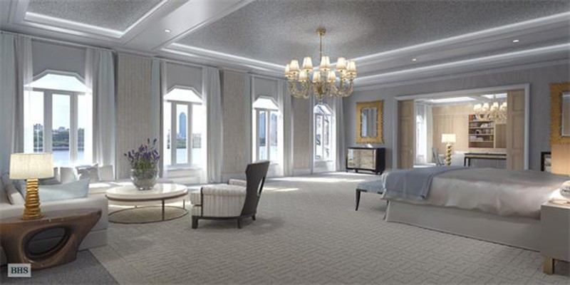 $130 Million Residence at River House - the Largest and Most Expensive Home in NYC