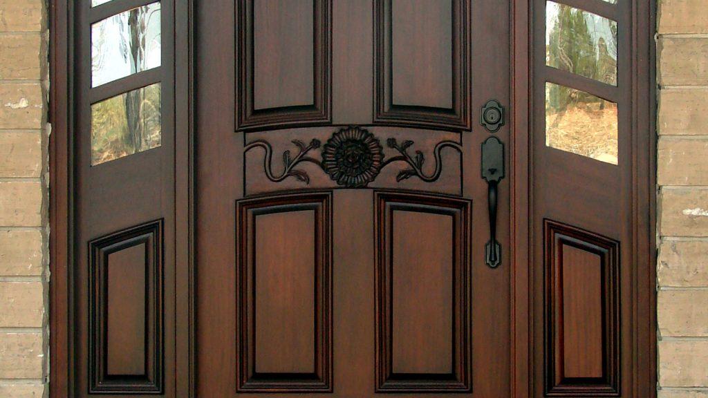 great exterior door