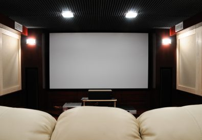 soundproof home theater in home cellar