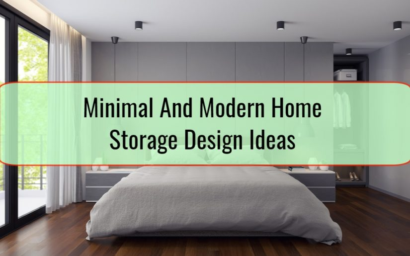 Minimal And Modern Home Storage Design Ideas