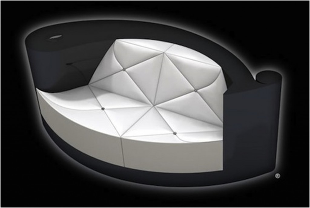 Plumeblanche Diamond Encrusted Sofa