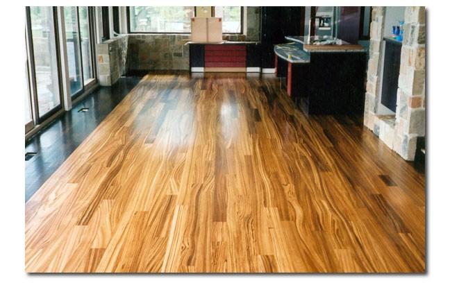 Zebra Wood Flooring